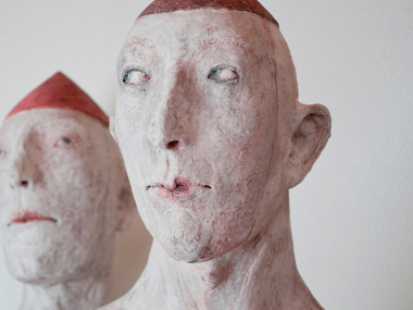 Patricia Broothaers – androgyn and bashful sculptures