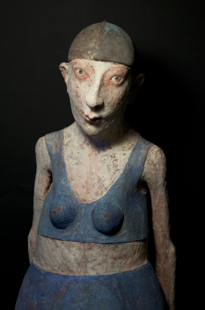 Patricia Broothaers - androgyn trans sculptures