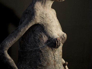 Patricia Broothaers – androgyn and bashful sculptures5