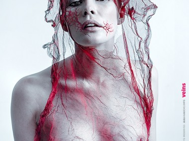 Jarek Kubicki – photomanipulations – Veins serie