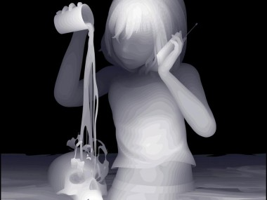 Kazuki Takamatsu – beautiful paintings – child