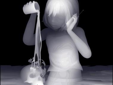 Kazuki Takamatsu – beautiful paintings – child