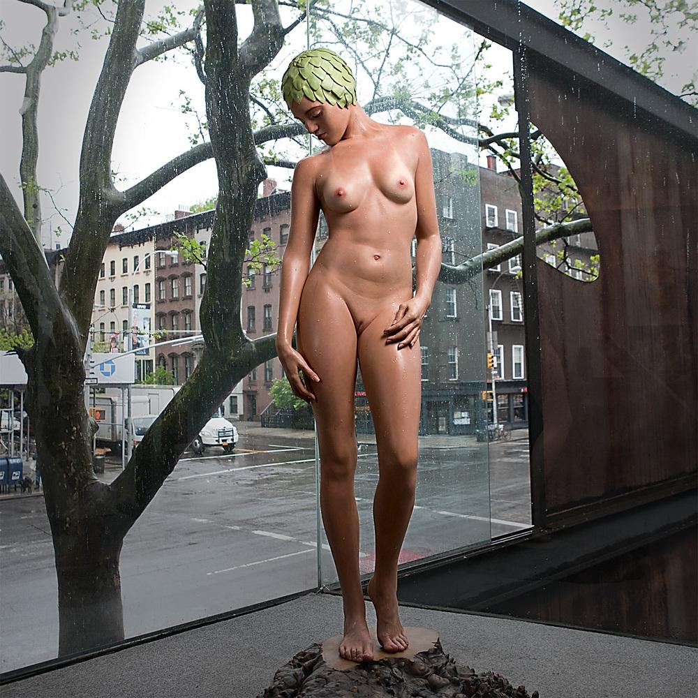 Sculptures hyperealistes Carole Feuerman – tree