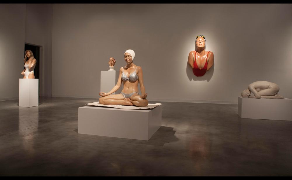 Sculptures hyperealistes Carole Feuerman expo