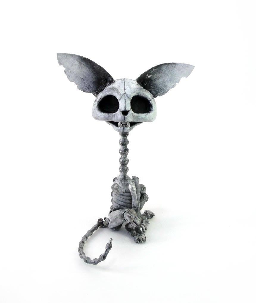 Steampunk sculptures – Igor Verniy – Cat death