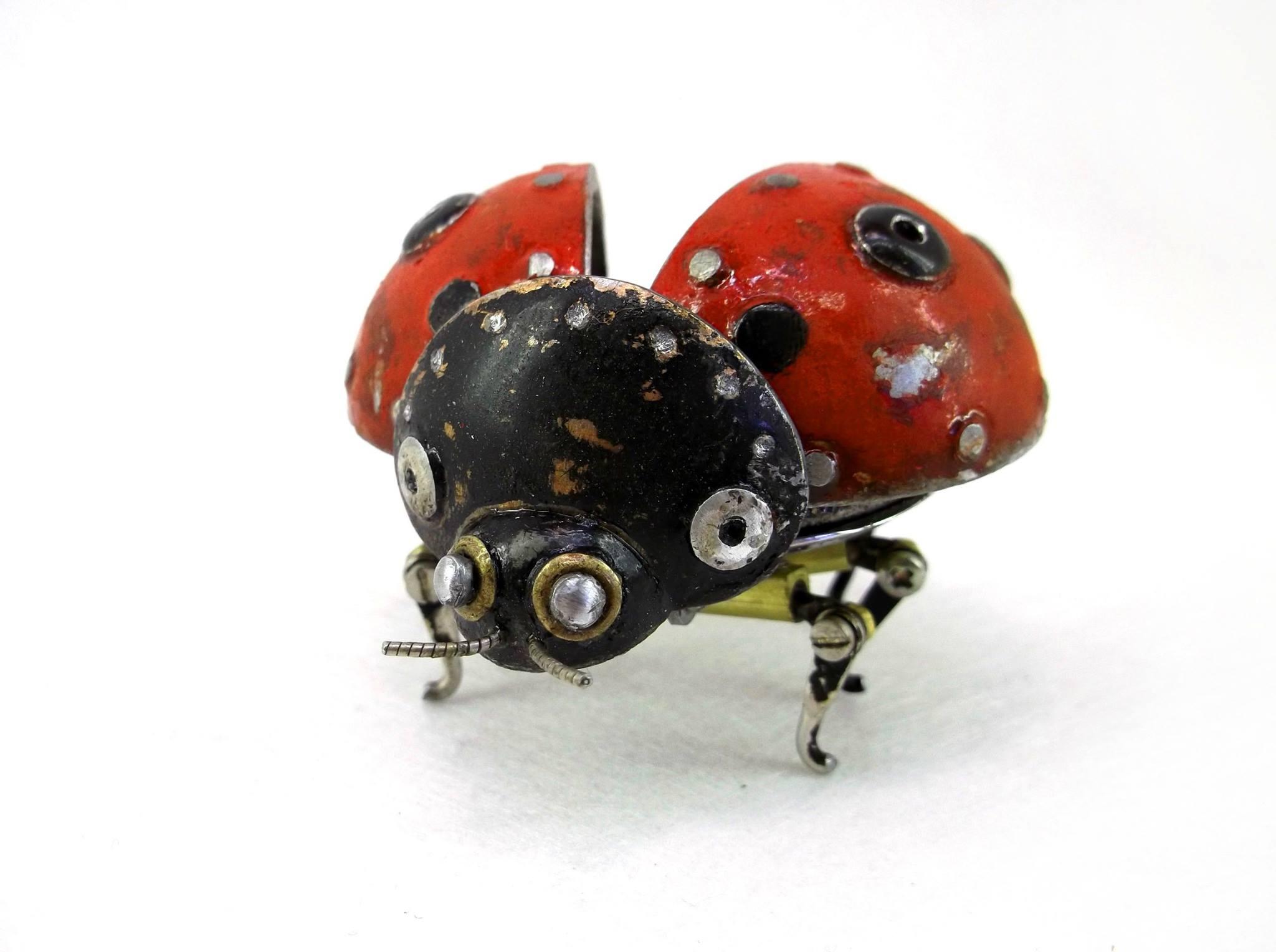Steampunk sculptures – Igor Verniy – LadyBug