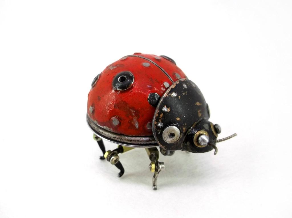 Steampunk sculptures - Igor Verniy - LadyBug