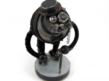 Steampunk sculptures – Igor Verniy – Old Mister Cat