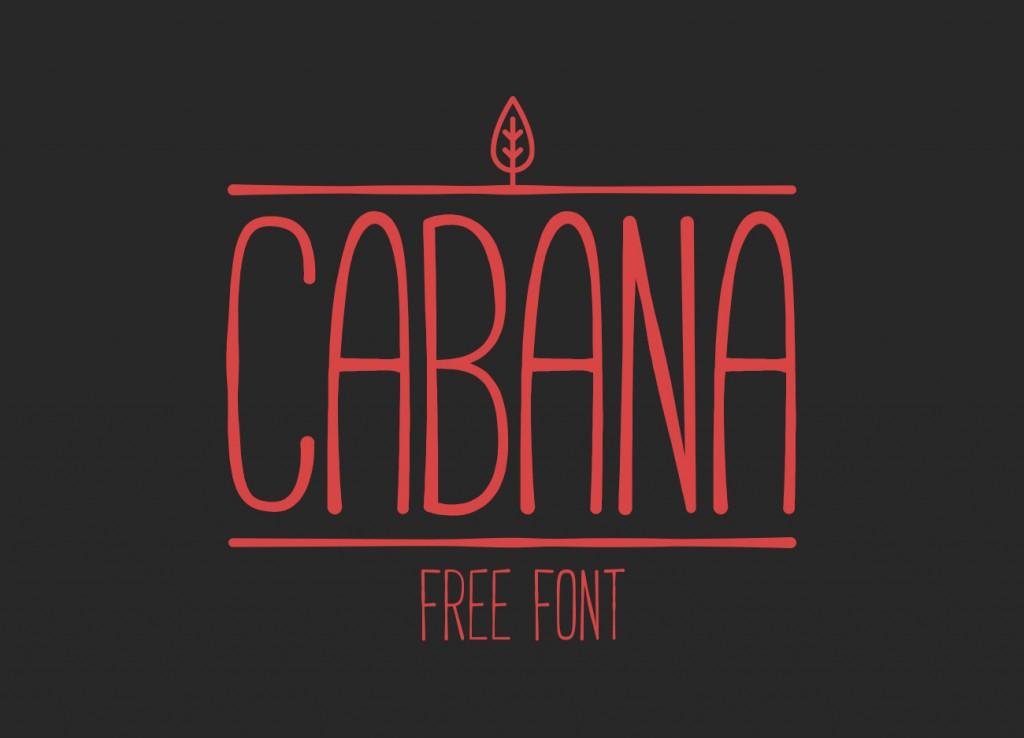 Cabana-free-Font