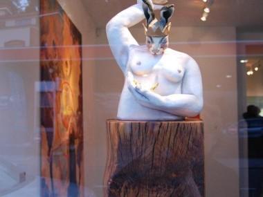 Clare Ferguson-Walker – Blind Faith Borne of Persistent Patience sculptures