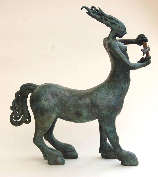 Clare Ferguson-Walker – Centaur sculpture