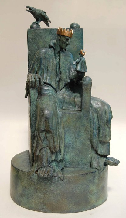 Clare Ferguson-Walker – The Lonely King sculpture