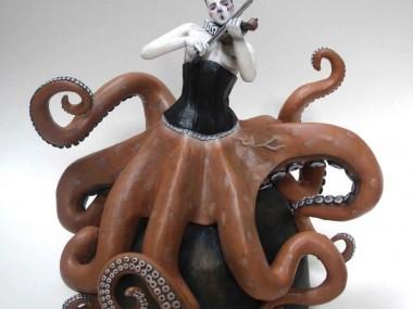 Clare Ferguson-Walker – pieuvre sculpture