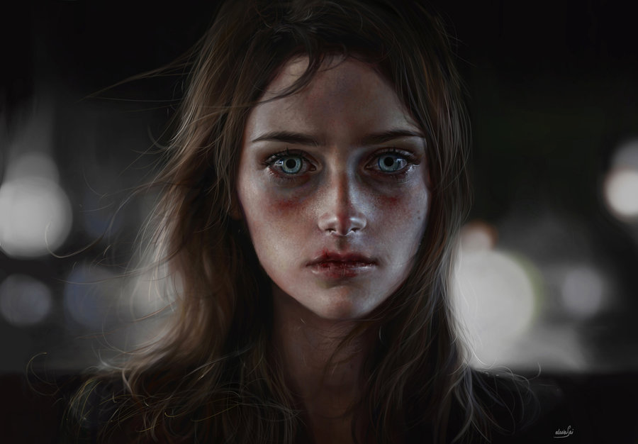 Digital painting – Elena sai