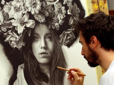 Emanuele Dascanio Painter Artist – hyper realist painting