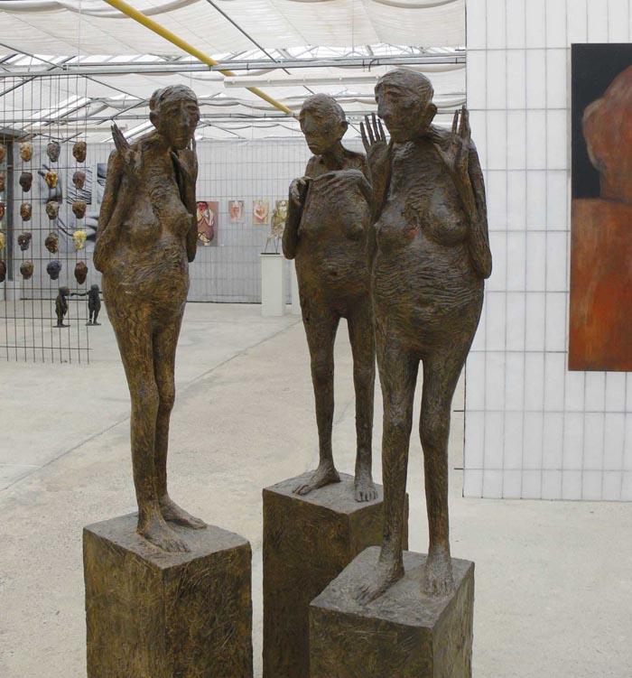 Expo Marc Petit – sculpteur