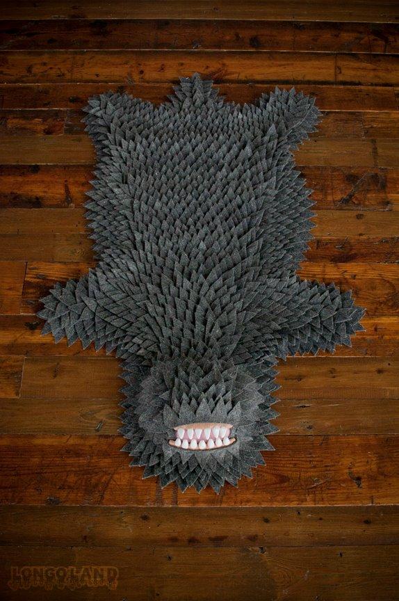 Joshua Ben Longo – Monster Skin Rug