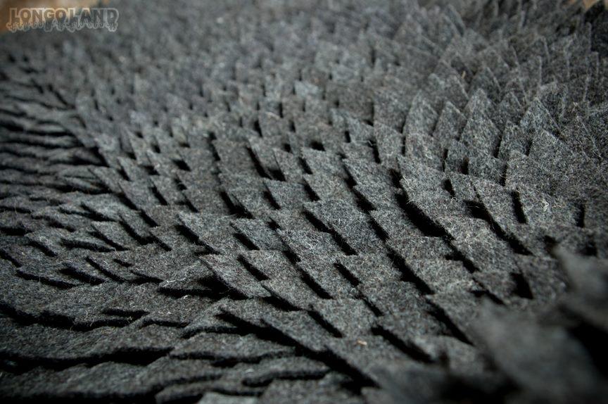 Joshua Ben Longo – Monster Skin Rug details