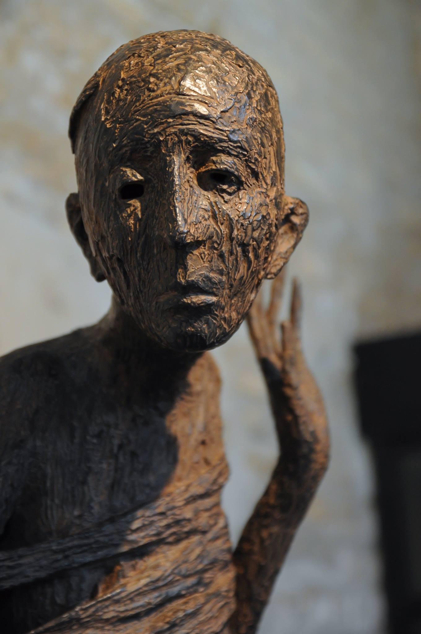 Les Onze du Manoir – Marc PETIT sculptures – Photo : Adrien Comes