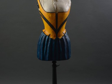 Mélanie Bourlon – Papier maché sculptures – Jaguarde