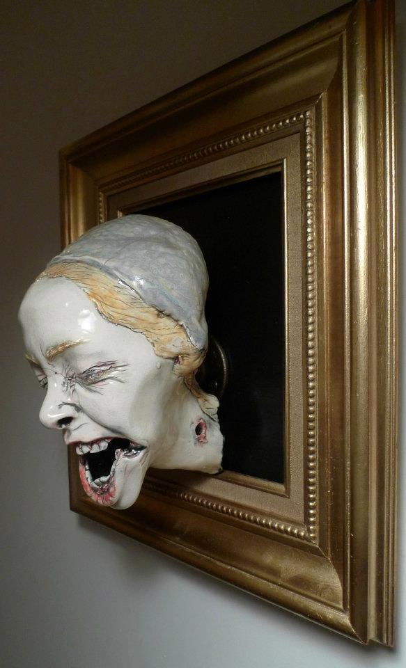 Sarah Louise Davey – Meadow Saffron- Macabres sculptures