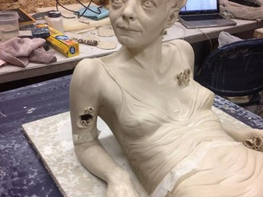 Sarah Louise Davey – Sculpture in progress