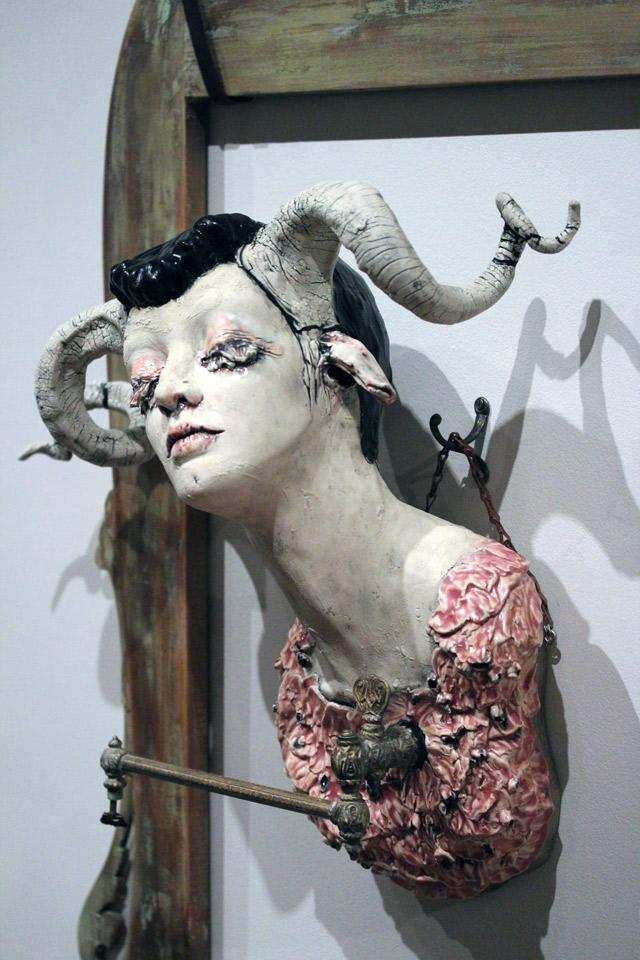 Sarah Louise Davey – macabre sculptures