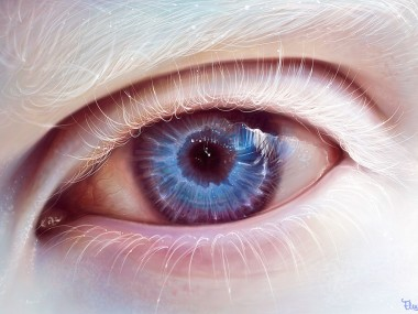 albino_eye_by_elenasai – Digitale art Eye