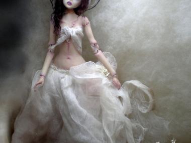 Art dolls -cdlitestudio – The Bride of Frankenstein