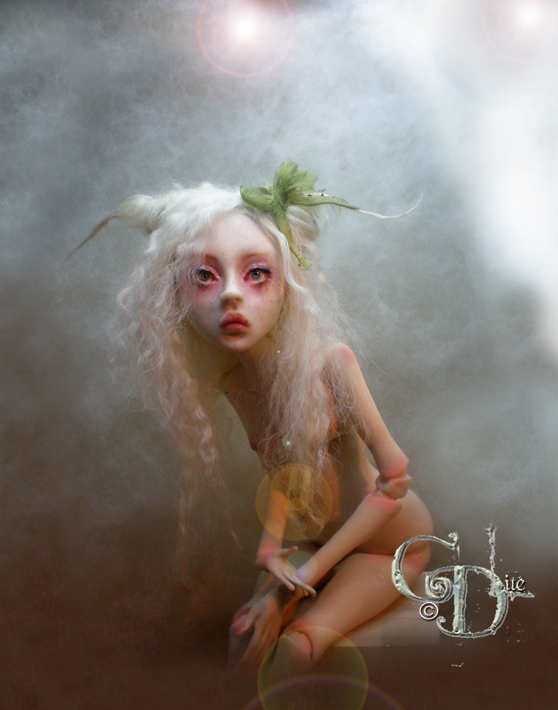 Art dolls – cdlitestudio – creepy doll