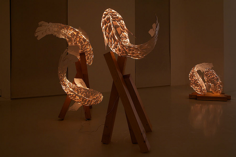 Frank Gehry – Fish Lamps