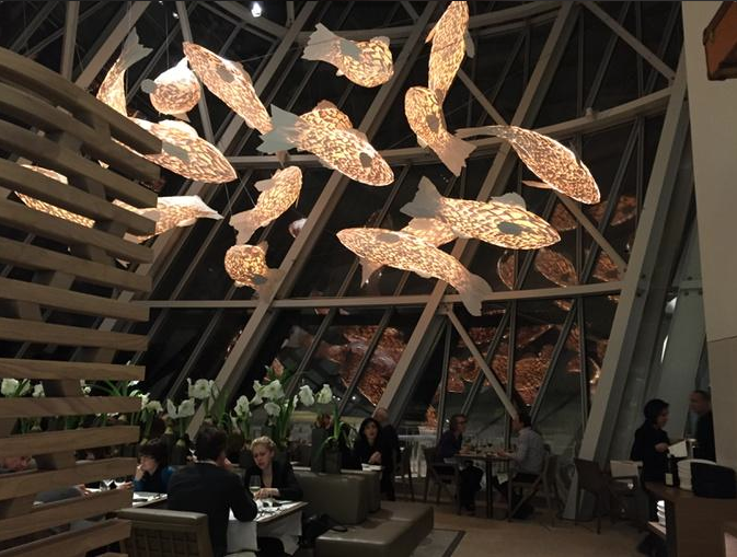 Frank Gehry - Fondation Louis Vuitton / Fish Lamps