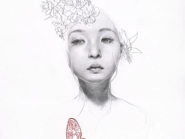 Soey Milk – The Flowering Tree- Pencil on paper
