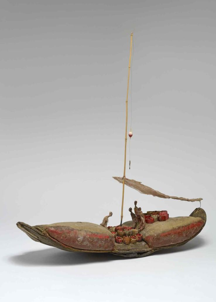 gerard cambon – Sculpture bateau aux epices