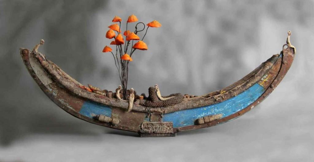 gerard cambon - felouque sculpture
