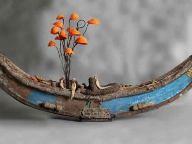 gerard cambon – felouque sculpture