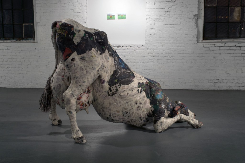 Will Kurtz and Nicolas Sanchez - sculpture cow life