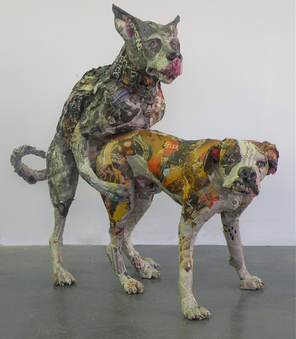 Will Kurtz – sculpture dogs