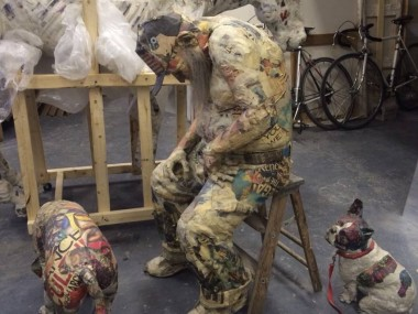 Will Kurtz – studio sculptures