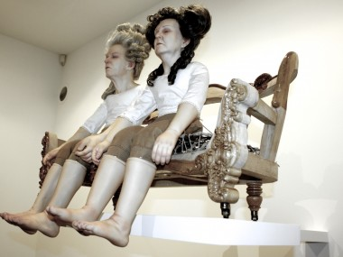 Christian-Pontus Andersson – Mother and Father sculpture