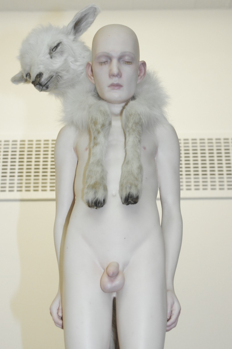 Christian-Pontus Andersson – The Lambs Lullaby – sculptures