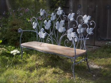 David Freedman – Bench metal sculpture