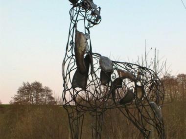 David Freedman – Deer Metal Sculptures