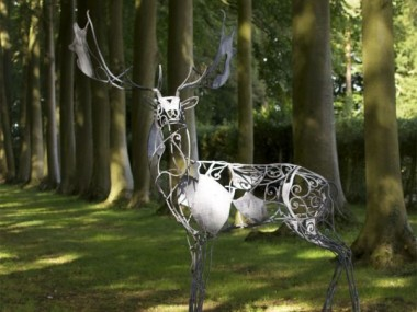 David Freedman – Deer Metal Sculptures