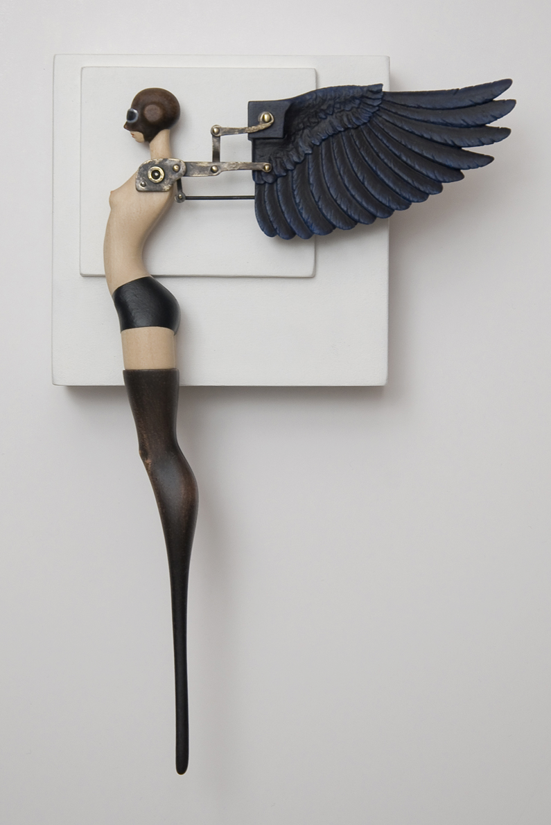 John Morris – Sculptures – Aviatrix