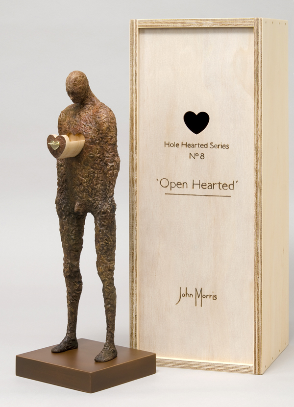 John Morris – Sculptures – Open Hearted