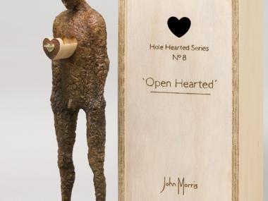 John Morris – Sculptures – Open Hearted