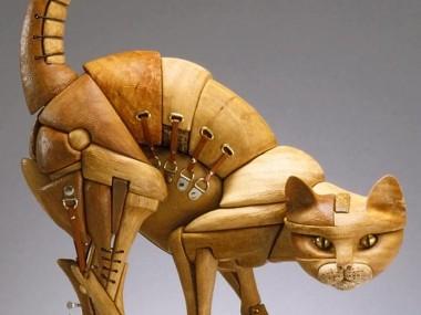 John Morris Sculptures – Cat
