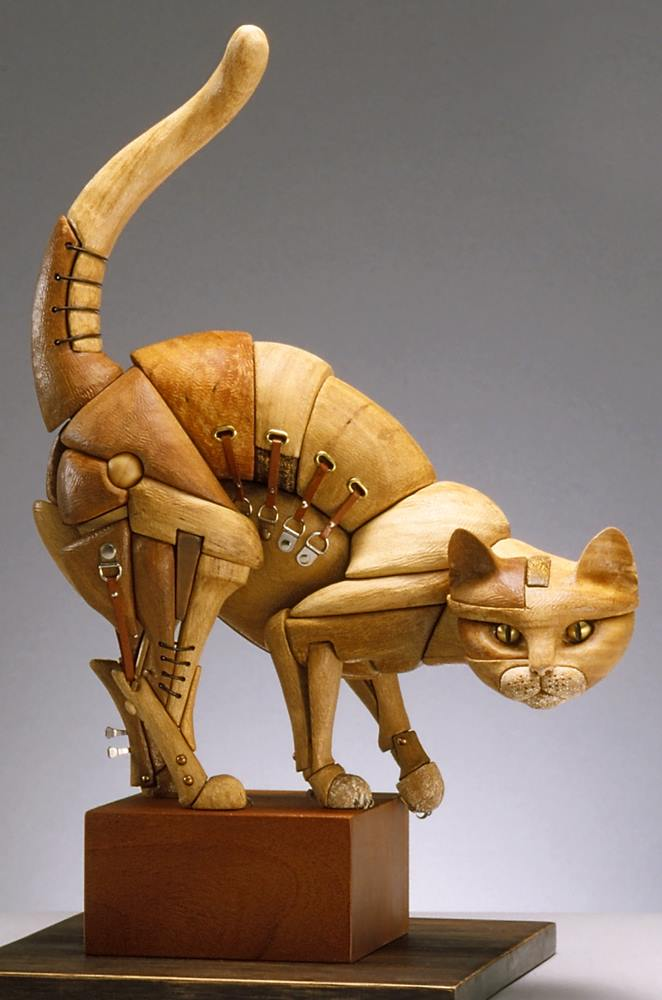 John Morris Sculptures – Cat