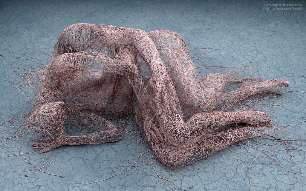 Adam Martinakis - Digital art - The remains of a memory